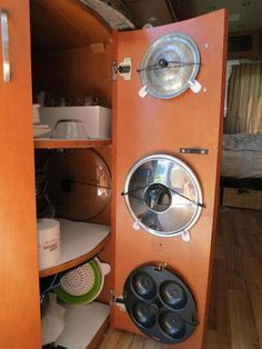 Rv Camper Hacks Kitchen Storage Solutions 14 image is part of Best Hacks Storage Solutions for RV Camper Kitchen gallery, you can read and see another amazing image Best Hacks Storage Solutions for RV Camper Kitchen on website Camper Hacks, Diy Camper, Rv Campers, Camper Trailers, Travel Trailers, Camper Van, Caravan Hacks, Rv Trailer, Trailer Remodel