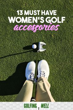 Here are some must have ladies golf accessories that are essential in playing the sport. Golf Socks, Classic Golf, Woods Golf, Club Face, Golf Instruction, Golf Towels, Golf Tips For Beginners, Golf Player, Golf Wear