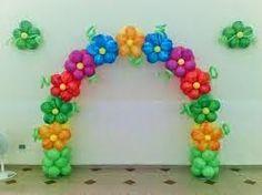 FIESTAS Y DETALLES: decoración con arcos en globos Balloon Decorations Party, Birthday Party Decorations, Party Themes, Balloon Flowers, Red Balloon, Balloon Columns, Balloon Arch, Deco Ballon, Trolls Birthday Party