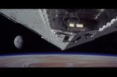 Star Wars-The opening scene, awesome for that time period.