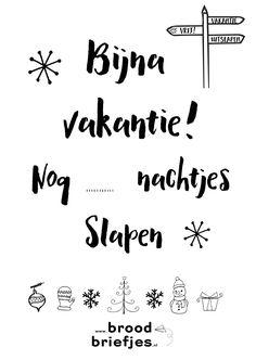 Nou wij tellen de dagen tot de kerstvakantie, hoor! We vinden het heerlijke gezellige en drukke weken, maar met kwakkelende kinderen (Jildou) en een jarige de afgelopen week bij Kim kijken we nu stiekem ook wel uit naar twee… Continue Reading →