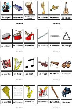 Music instruments!  Free download!  ♫ CLICK through to download or save for later!  ♫