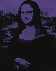 Mona Lisa by Andy Warhol, 1979. Acrylic, ink for screen printing on canvas, 63.5 x 50.8 | Sotheby's