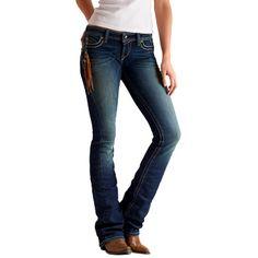 f6622b150f Ariat Women s Ruby Sonora Jean in Dark Cloud. Stylish Jeans