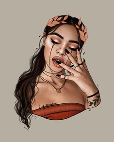 Outline for Lily Maymac ❤️ Arte Dope, Dope Art, Cute Girl Drawing, Cartoon Girl Drawing, Black Love Art, Black Girl Art, Cartoon Kunst, Cartoon Art, Lily Maymac