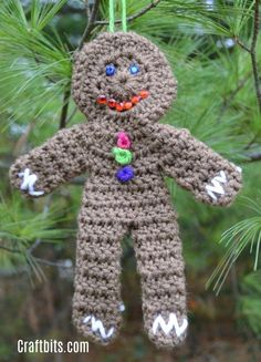 This little fellow is adorable and oozes Christmas. Use him for present toppers, embellishments or simply hang him on the tree. Popsicle Stick Christmas Crafts, Edible Christmas Gifts, Christmas Crafts For Toddlers, Holiday Crafts, Christmas Diy, Christmas Stuff, Handmade Christmas, Holiday Fun, Holiday Decor