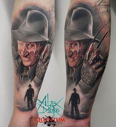 Today in Belgium in @inksane_tattoo . Done with @quantumtattooinks @odin_tattoostudio #realistictattoo #electrumstencilprimer #tattoo #tattooistartmag #tattoos #tatts #ta2 #inkjecta #ink #odintattooshop #ink #alexmorotattoo #alexmoro #freddykrueger #huitatattoo #horror #nightmare #colortattoo #spb #piter #belgium #тату #татумастер #татуха #спб #питер #фреддикрюгер #бельгия