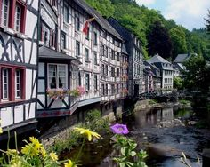 Monschau, Germany- Im kinda home sick.. tho Europe isn't my home. We only lived there for 3 years...