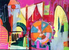 Works on paper - Art by Julia Godden www.juliagodden.com