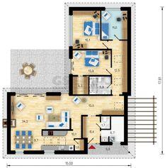 4+1 / 8 House Plans, Floor Plans, Construction, House Design, How To Plan, Villa, Google, Home Layouts, Architecture