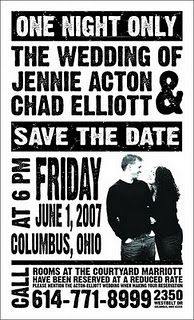 """This is such a creative and awesome idea for """"Save the Dates"""""""