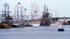 De Koningin Juliana tijdens Sail Den Helder.