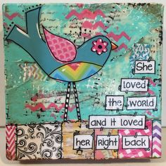 https://www.etsy.com/listing/234780495/mixed-media-bird-painting-whimsical-bird