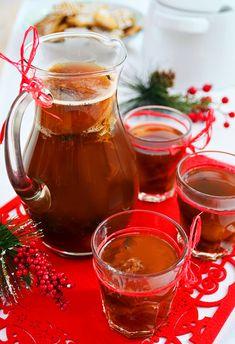 Kompot wigilijny z suszu owocowego z nutą herbaty Earl Grey Kampot, Polish Recipes, Polish Food, Borscht, Earl Gray, Kefir, Alcoholic Drinks, Cheesecake, Honey