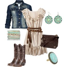 Cowgirl Maggie by brownfamily-est on Polyvore