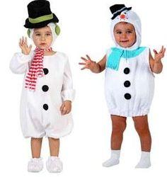 Disfraces bebés Navidad: fotos de ideas - Disfraces Navidad muñecos de nieve
