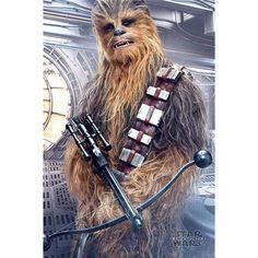Star Wars Chewbacca Plakat