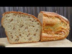 Homemade sourdough bread for beginners. Sourdough Bread, Homemade, Baking, Youtube, Breads, Food, Essen, Home Made, Bread
