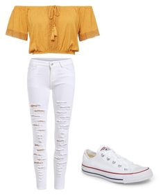 """""""Outfit #18"""" by abby020 on Polyvore featuring Converse"""