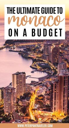 The Ultimate Guide to Monaco on a Budget . Planning a trip to Monaco? Looking for advice on where to stay, where to eat and what to do? Here is an insiders guide on what you can and should be doing in Monaco all on a budget. #budgettravel #monaco #europe