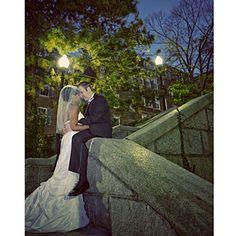 Taylor and Robert in Boston, MA. Bride: Taylor� Groom: Robert� Location: Boston, MA� Theme: Seaside