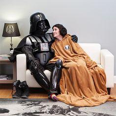 Forget Jedi Robes, Wear A Jedi Sleeved Blanket