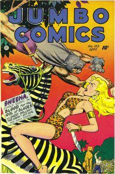 Jumbo Comics #103, 1947