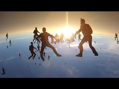 Vertical Skydiving World Record