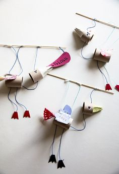 Marionettityöpaja Rõõmissä / Bird Puppet Workshop