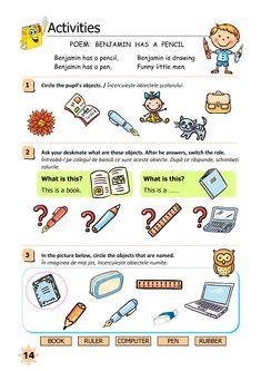 Clasa Pregătitoare : Limba engleză pentru clasa pregătitoare Little Man, Homeschooling, Ali, Poems, English, Activities, Poetry, Ant, Verses