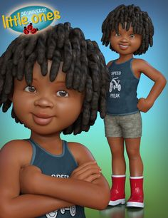 Little Ones (African Male) for Genesis 3 Male