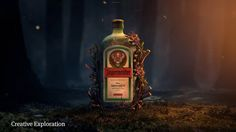 """This is """"JagerMeister"""" by Saddington Baynes on Vimeo, the home for high quality videos and the people who love them. Creative Portfolio, Whiskey Bottle, Big Ben, Digital Art, Food And Drink, Drinks, Artist, Animation, Design"""
