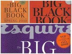 Esquire magazine Big Black Book