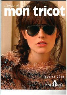 Receita Tricô Fácil   MON TRICOT Edição de Luxo   Revista Completa revistas digitalizadas Tricô/Crochê                                    ...