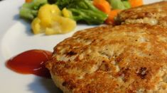 Simple and tasty pan fried salmon cakes! Just salmon, eggs, onion and black pepper. Mix it all up, shape into patties and you are ready to go! Great with macaroni and cheese.