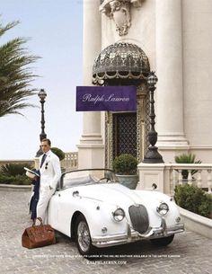 So Lovely - Ralph Lauren Purple Label - Spring/Summer 2012 Campaign