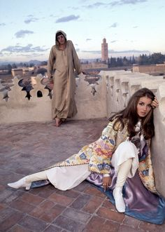 Five ways to get Talitha Getty's signature style.