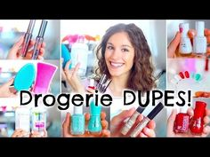 7 günstige Drogerie DUPES ♡ Benefit|Essie|TangleTeezer|Bioderma |BarbieLovesLipsticks - YouTube