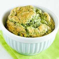 Spinach Soufflé. Soufflés can seem rather daunting. This foolproof, low-cal recipe is certainly quick and easy, yet still has the effect of impressing everyone who sees it!