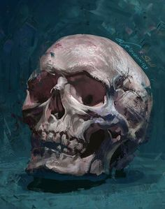 is right around the corner, do you need some ideas for decor? This vibrant acrylic skull painting will add a spooky pop of color to your home for the holiday. Art By: Arteza Team Skull Painting, Painting & Drawing, Art Inspo, Art Sketches, Art Drawings, Art Du Croquis, Drawn Art, Arte Sketchbook, A Level Art
