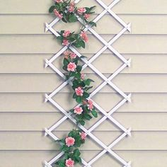 Garden Trellis By QCI Direct. $14.99. Expands To 8 Feet Long. Sturdy Support