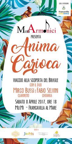 Anima Carioca, concerto di musica brasigliana organizzato da Moti Armonici