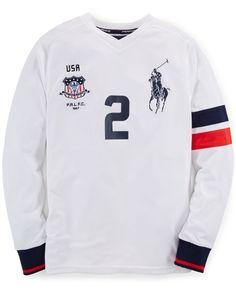 Ralph Lauren Boys' Performance Jersey T-Shirt