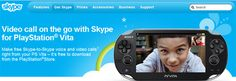 Skype now available for Windows Phone and PS Vita