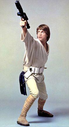 Mark Hamill as Luke Skywalker from Star Wars Star Wars Film, Star Wars Jedi, Star Wars Art, Mark Hamill Luke Skywalker, Star Wars Luke Skywalker, Star Wars Episode 4, Episode Iv, Star Wars Episodio Iv, Starwars