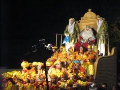 en 2011 vi por primera vez a los Reyes Magos, asignatura pendiente de mi infancia en Cuba :)