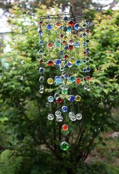 wired glass marble mobile | Flickr - Photo Sharing!