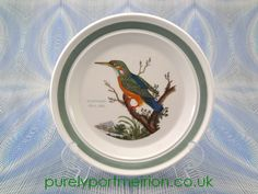 Portmeirion Birds Of Britain Vintage 7.25 Inch Side Plate