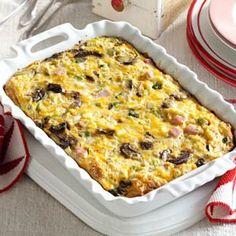 Brunch Strata Recipe from Taste of Home -- shared by Arlene Butler of Ogden, Utah