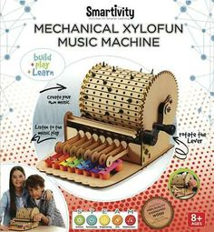 The Mechanical Xylofun Music Machine is the coolest way to learn about notes, tunes and music for your child. Music For You, Good Music, Permutations And Combinations, Music Machine, Music Station, Music Composers, Birthday Gifts For Kids, Vintage Music, Diy Kits